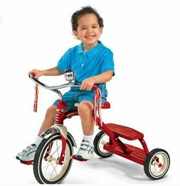 Dual Deck Tricycle for Kids Aged 2-5, Red Color