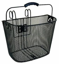 Ventura Quick Mount Wire Mesh Basket for Bicycles, Standard