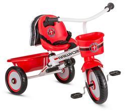 Easy-Steer Toddler Beginner Tricycle with Push or Steer Hand
