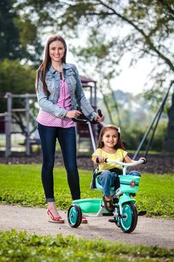Schwinn Easy-Steer Tricycle with Push/Steer Handle ages 2 -
