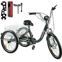 ebike e trike electric bike 24 adult