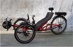 Electric Recumbent Tricycle, recumbent trike, Recumbent bicy