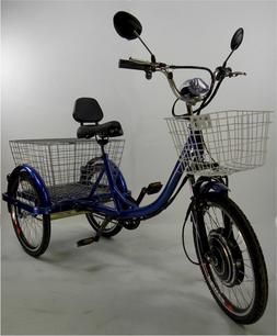 Motorized electric three wheels tricycle, adult scooters