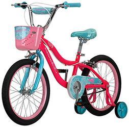 """Schwinn Elm Girl's Bike with SmartStart, 18"""" Wheels, Pink"""