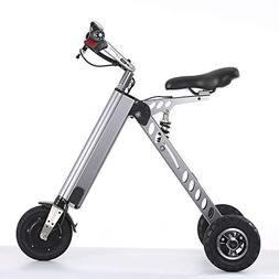 TopMate ES30 Electric Scooter, Mini Foldable Tricycle With L