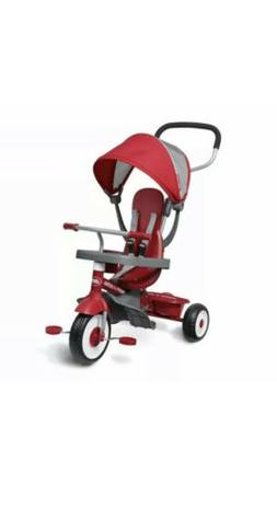 Radio Flyer EZ Fold 4-in-1 Stroll 'N Trike Infant Toddler St