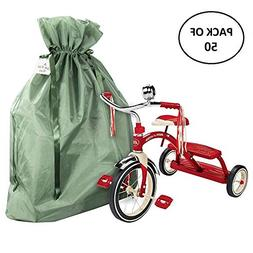 XLarge Premium Fabric Gift Bags  Organza with Lining and Sat