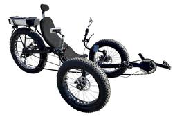 fat tire recumbent electric trike electric tricycle