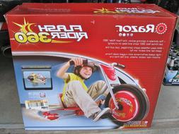 Razor Flash Rider 360 Sparking Trike Ride On Trike Tricycle-
