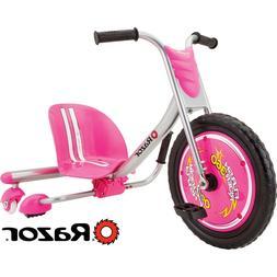 Razor FlashRider 360 Kid's Sparking Trike Tricycle - Turn an