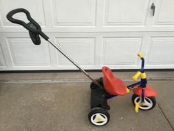 fly tricycle and push bar made in