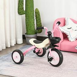 Foldable 3 Wheel Kids Tricycle for Toddlers Walking Tricycle
