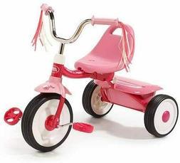 Folding Trike Pink Tricycle Kids Toddler Child Bike Ride On