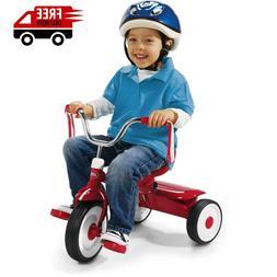 Radio Flyer Folding Trike Red Tricycle Kids Bike Toddler Rid