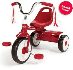 folding trike red tricycle kids bike toddler