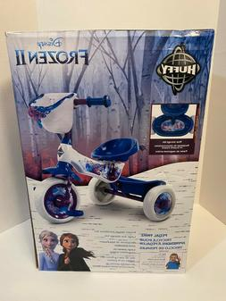 Huffy Frozen II 2 Pedal Trike Tricycle Blue Bike Toddler Gir