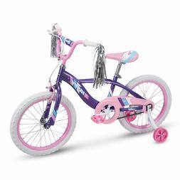 Huffy Glimmer Girls Bike 12,14,16,18In W/ Streamers, Trainin
