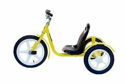 AmishToyBox.com Groffdale Chopper Kid's Deluxe Yellow Trike