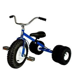 Dirt King Heavy Duty Child Dually Tricycle - Blue