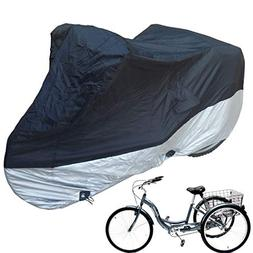 Formosa Covers Premium Adult Tricycle Cover Heavy Duty Fabri
