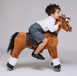 UFREE Horse Great Gift for Boys, Action Unicorn Toy, Ride on