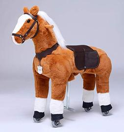 UFREE Horse Great Present for Girls, Action Pony Toy, Ride o