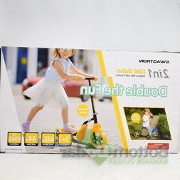 K2 Toddler 3 Wheel Kick Scooter & Ride-On Balance Trike 2-in