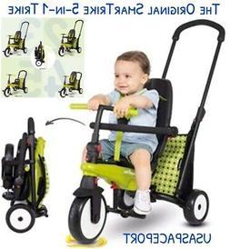 Kids SmarTrike 300 Green 5-in-1 Folding Smart TRIKE Toddler