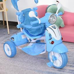 Kids Outdoor Toddler Tricycle 3 Foldable bike for 3-8 Years