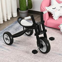 Kids Tricycle 3 Wheel Toddler Trikes for Boys Girls Black