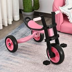 Kids Tricycle 3 Wheel Toddler Trikes for Boys Girls Pink