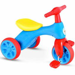 Kids Tricycle Balance Training Bike Ride on Toy Children 3-W
