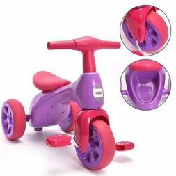 Kids Trike Bike Toy For Toddler Girls Age 2 3 Year Old Easy