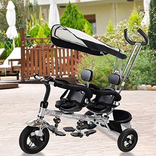 1 dual twins trike toddler