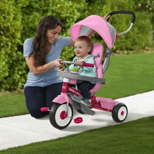4-in-1 Grow Me Radio Baby Kids Girls Bicycle Ride
