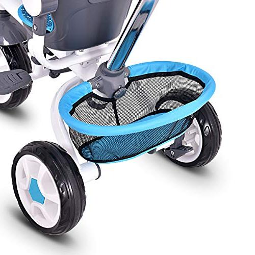 Costzon Tricycle Steer Stroller w/Canopy Basket