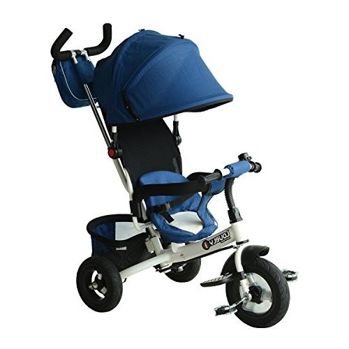 1 lightweight convertible tricycle stroller