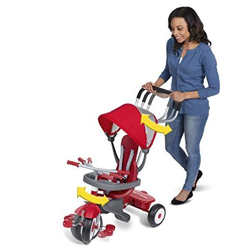 Radio Flyer 4-in-1 'N Trike, Red
