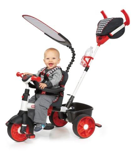 Little 4-in-1 Ride On, Red/White, Edition