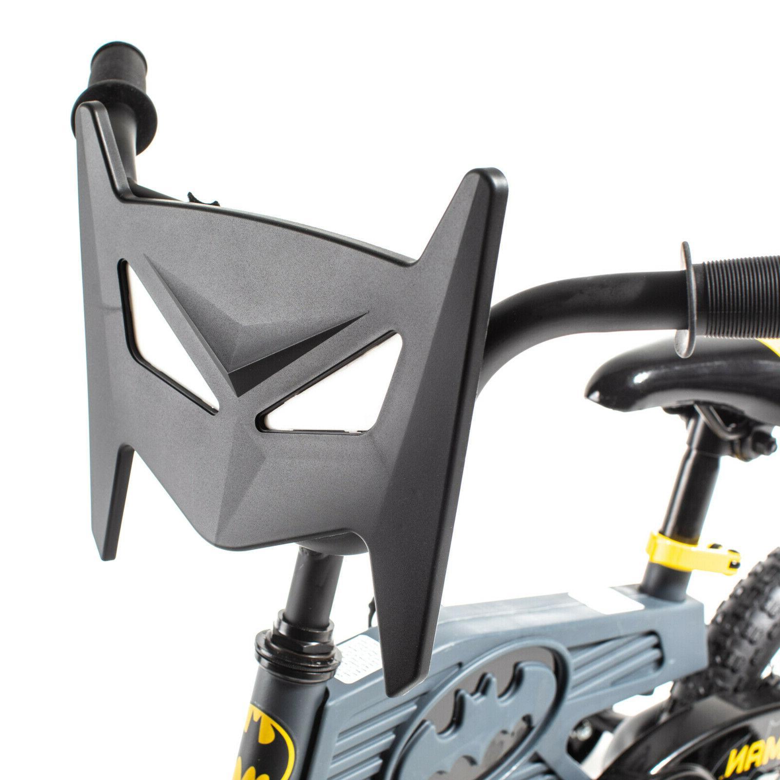 12 Inch Batman Face Number Theme Design Boys Training Wheels