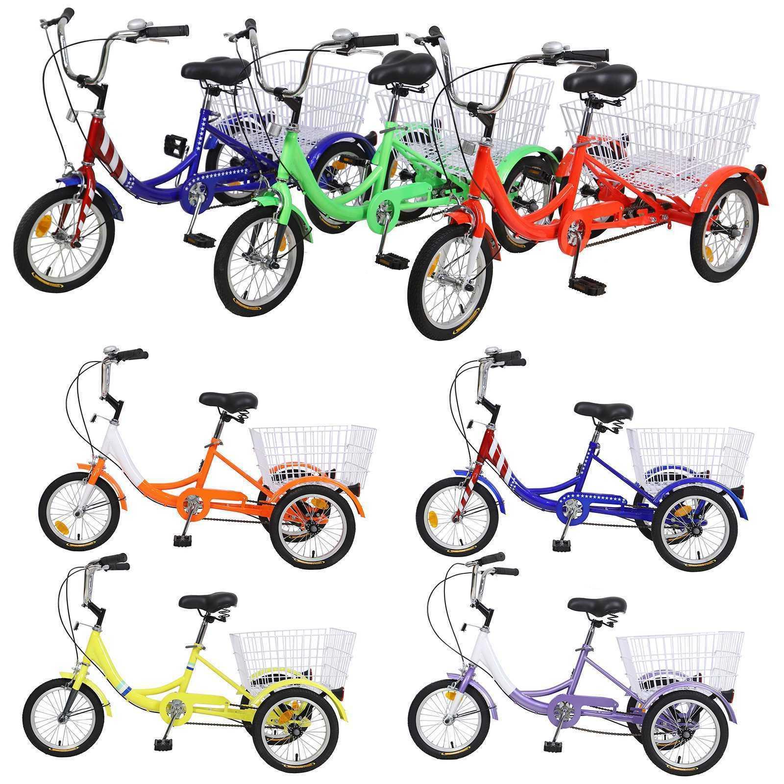 Kids Youth Teenagers 14'' 16'' 3-Wheel Tricycle Trike Bicycl