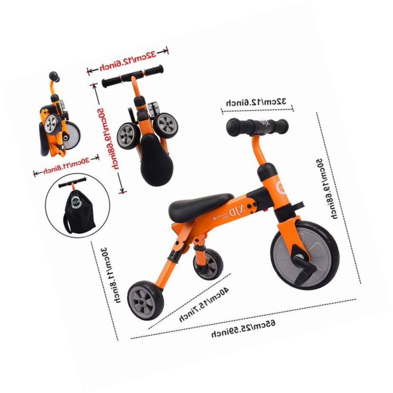 XJD 2 in Kids Tricycles for Years Old Boys Trike Toddl