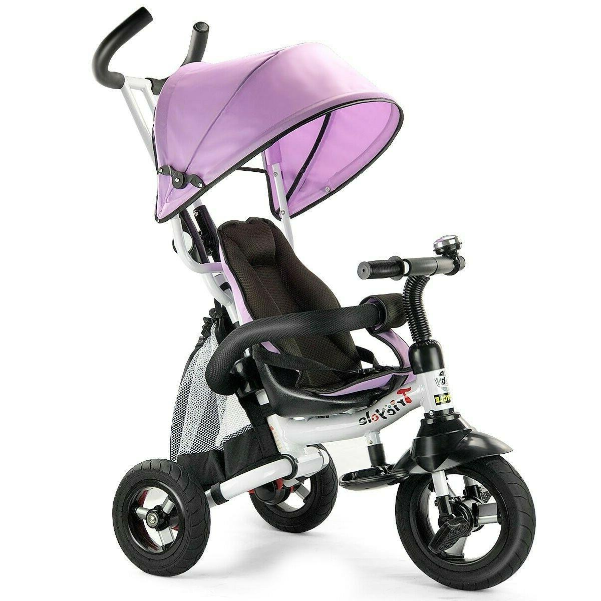Tricycle For 2 Year Old To 5 Kids Bike Toddler Stroller Bicy