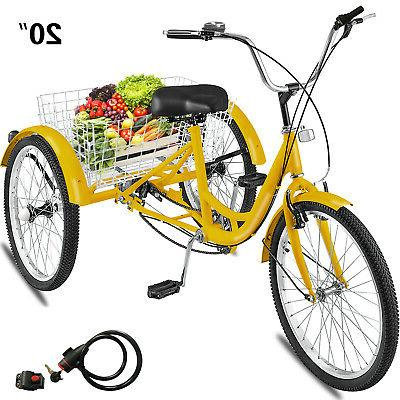 adult tricycle 20 1 speed 3 wheel