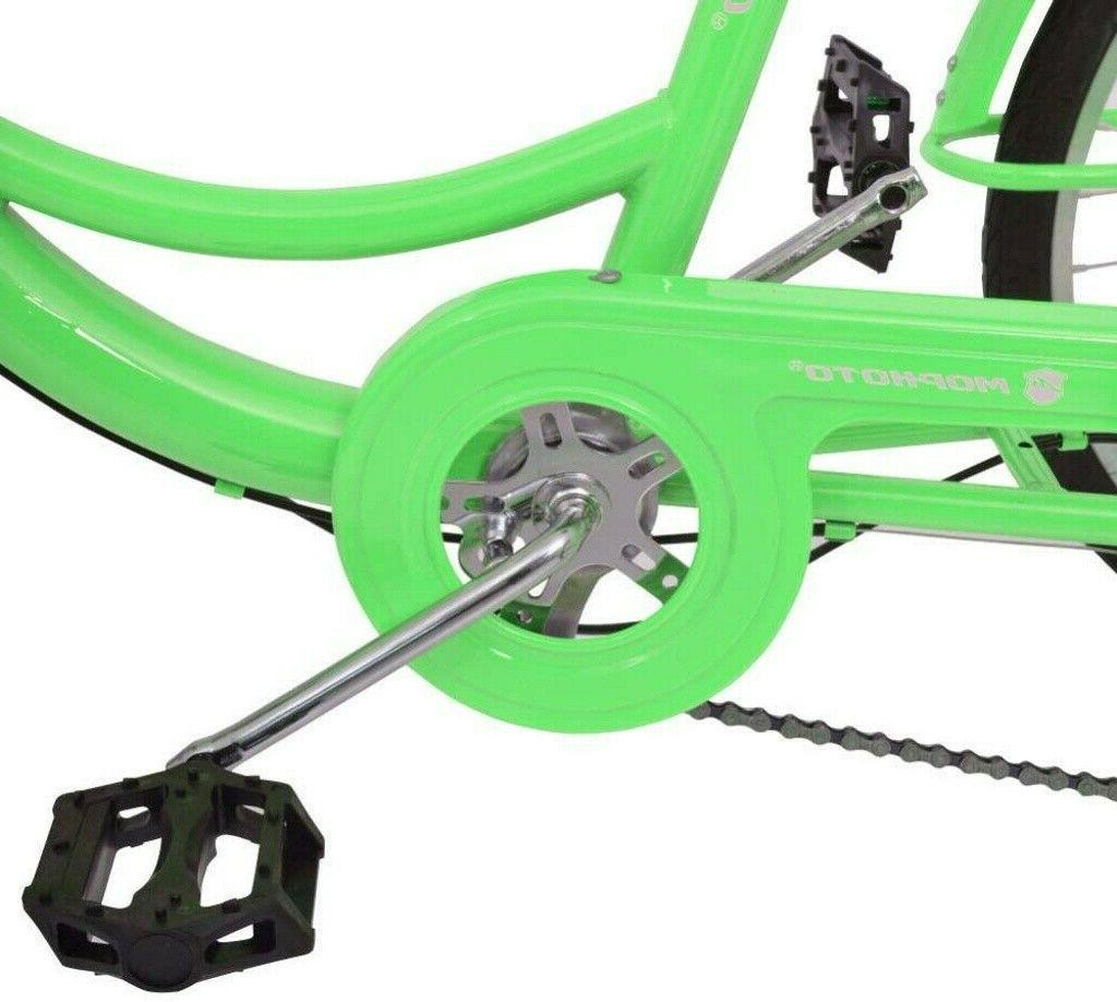 20''Foldable 14/24/26'' 3-Wheel Tricycle Bicycle w/Basket
