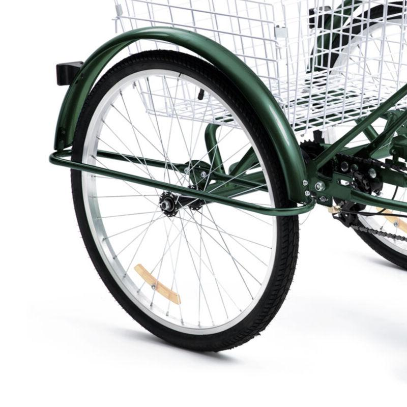 20 Inch 1 Speed Tricycle 3-Wheel Bike for