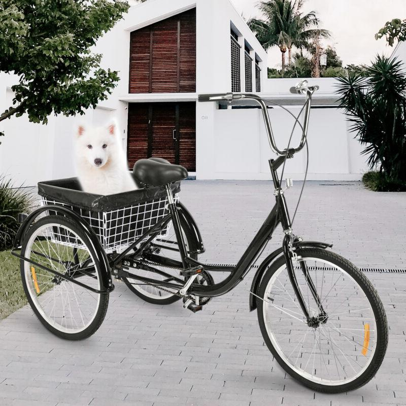 """Adult Trike Cruise with Basket Liner, 24""""/20"""""""