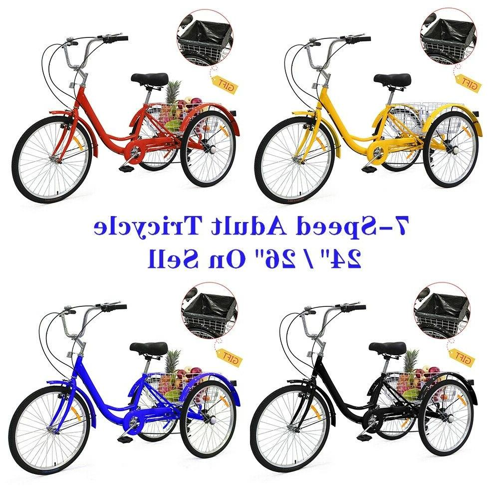 24 26 adult 7 speed tricycle 3