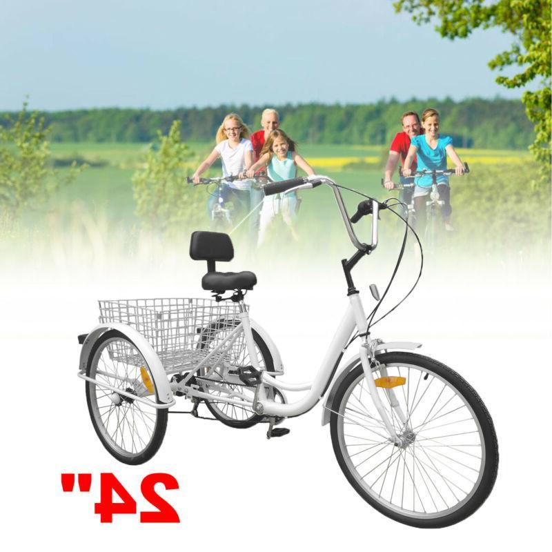 24 3 wheel tricycle trike adult elder