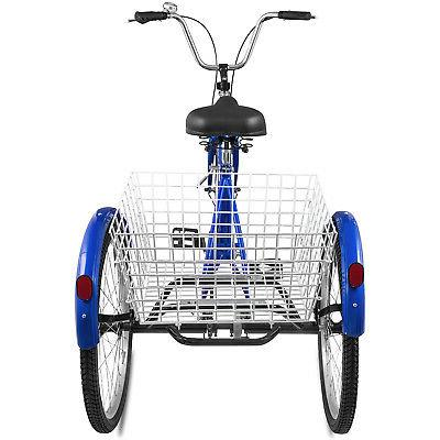 24'' Adult 3 Basket 330LBS Bicycles